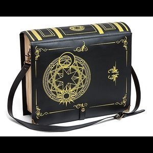 Black Magic Spellbook Laptop Bag NWT